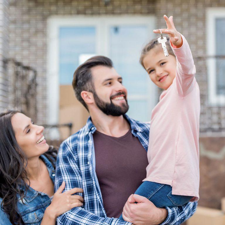 Familie mit eigener Wohnung - C&P Immobilien AG