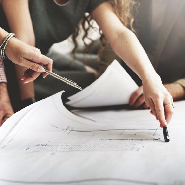 Planung Wohnprojekt Bauplan - C&P Immobilien AG