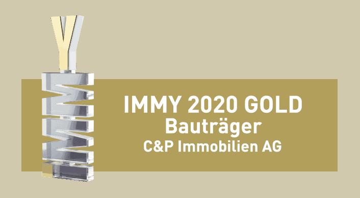 C&P ist Preisträger des IMMY für Bauträger 2020