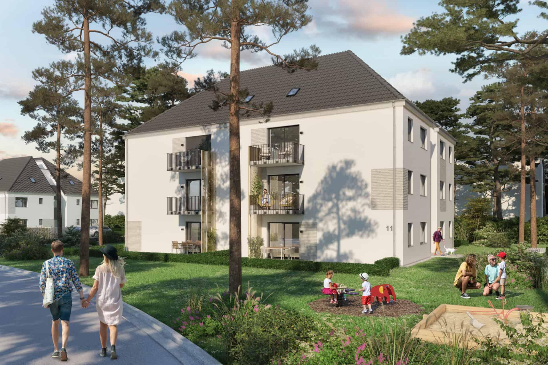Wohnprojekt 4 Trees Wustermark im Berliner Speckgürtel - C&P Immobilien AG