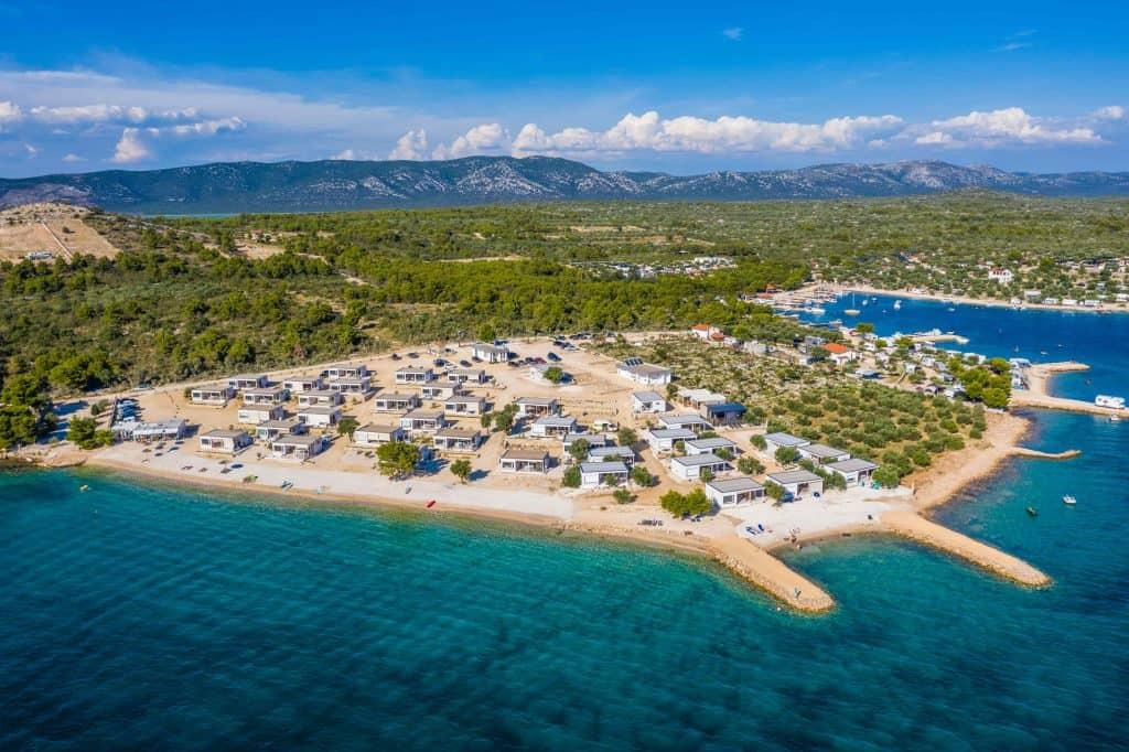 Mobile Home in der Resortanlage Buqez in Kroatien