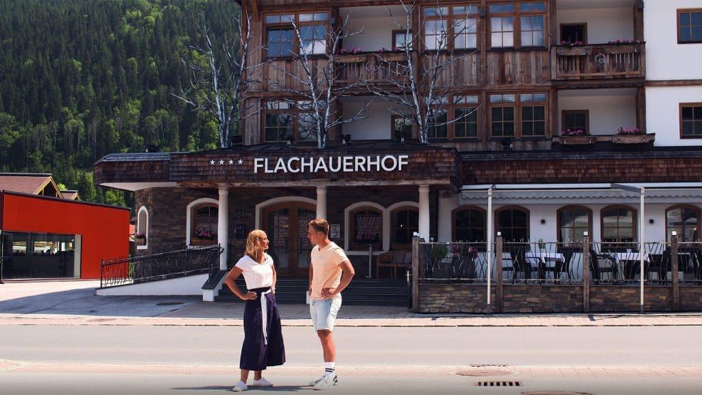 Hotel Flachauerhof mit Michaela Kirchgasser und Josef Ferstl
